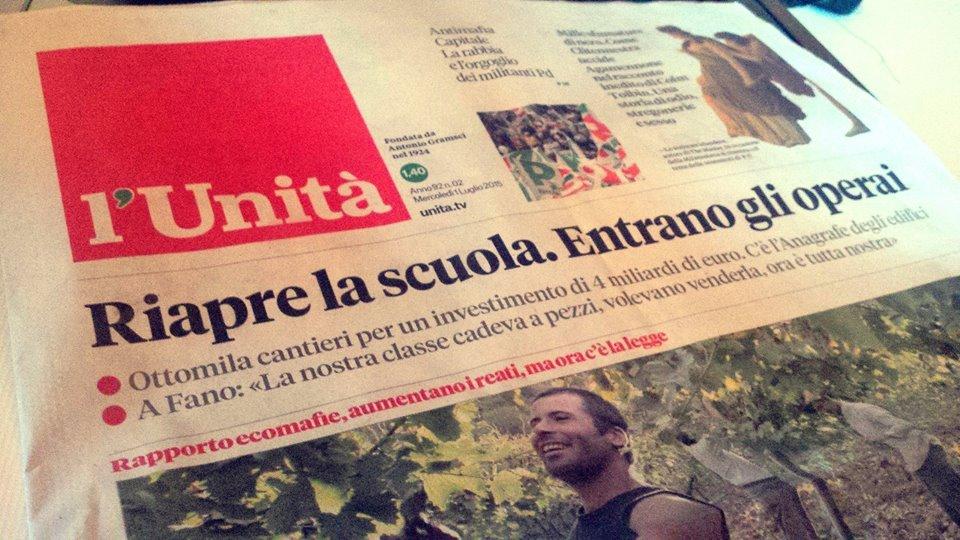 """DE ANGELIS, NUOVO DIRETTORE DE """"L'UNITA'"""", HA UN RUOLO NEL GOVERNO: PRESENTATA INTERROGAZIONE"""