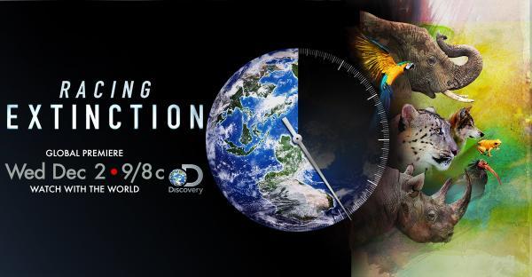 RACING EXTINCTION: un documentario in contemporanea mondiale in 220 paesi.