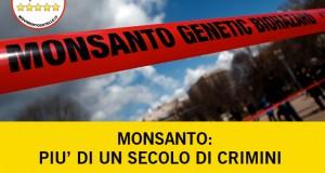 Monsanto: più di un secolo di crimini. Ad ottobre se ne discuterà all'Aja.
