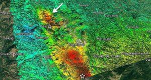 Il sisma dal satellite: il nostro territorio cambia.