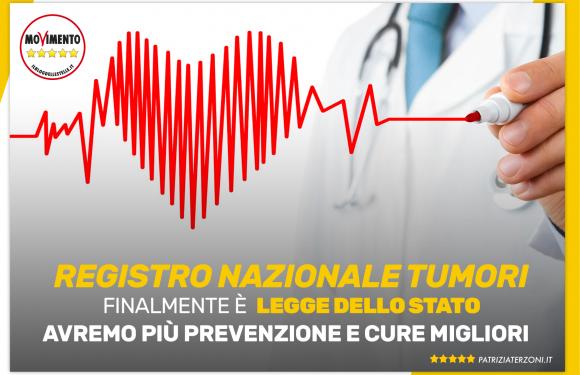 Registro Nazionale Tumori: tuteliamo la salute dei cittadini
