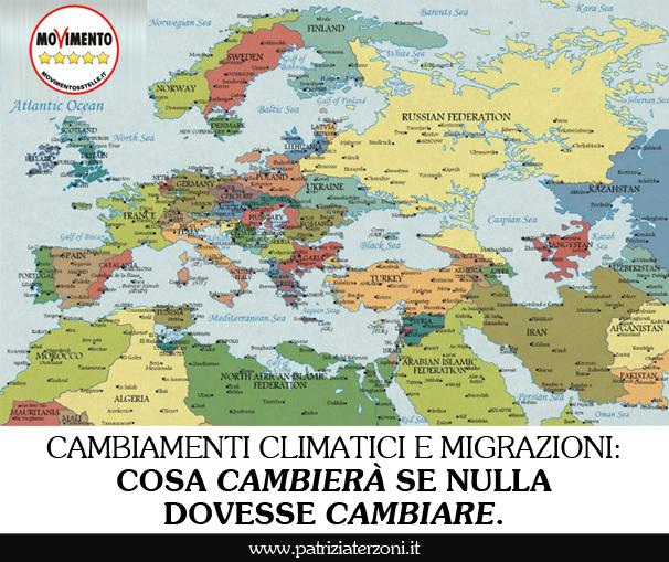 Cambiamenti climatici e migrazioni: cosa cambierà se nulla dovesse cambiare.