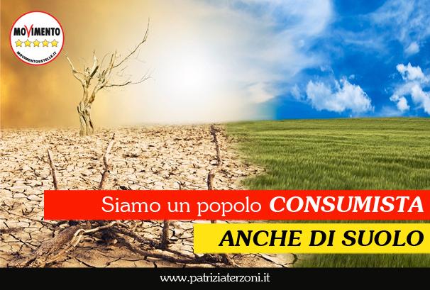 Siamo un popolo consumista. Anche di suolo.