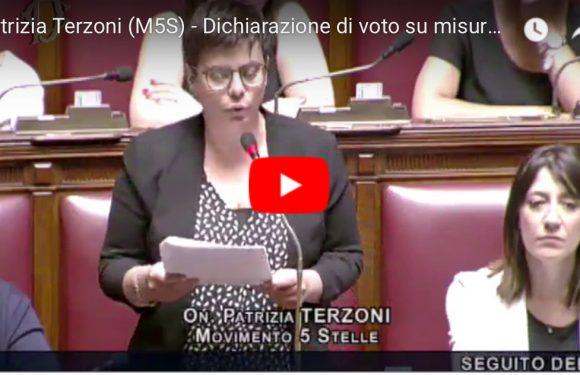 Dichiarazione di voto #DecretoSisma