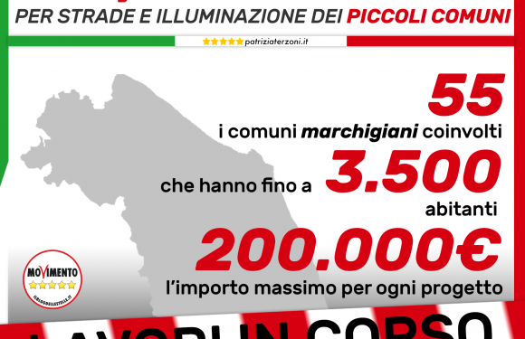 Opportunità per piccoli comuni marchigiani, finanziati progetti fino a 200 mila euro!