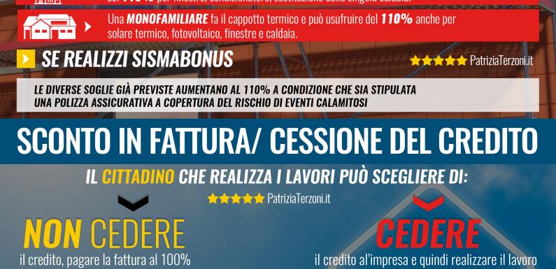 #EcoBonus #Sismabonus e #SuperBonus110 #RILANCIAMO L'ITALIA E L'#AMBIENTE